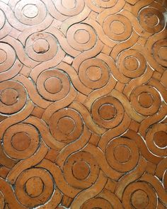 Italian flooring in an ancient palazzo wine cellar - photo Caroline Feiffer Deco Design, Tile Design, Pattern Design, Tile Patterns, Textures Patterns, Wallpaper Patterns, Geometric Patterns, Italian Wine, In Vino Veritas