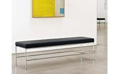 Grissini Bench, Black - Design Within Reach ; 1575.00 US ; 60""