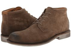 ECCO Findlay Chukka Boot Birch/Walnut - 6pm.com