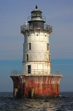 Hooper Island Lighthouse, Maryland (built i 1901).Please check out my website Thanks.  www.photopix.co.nz