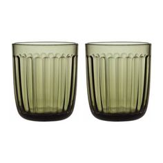 Shop iittala - Raami Tumbler Set Moss Green at Peter's of Kensington. View our range of iittala online. Why in the world would you shop anywhere else for iittala? Sushi Set, Mousse, Clear Tumblers, Water Into Wine, Christmas Dishes, Clean Dishwasher, Manicure Set, Drinking Glass, Pressed Glass