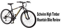If you need a budget bike with rich features. You can go with Schwinn High Timber Mountain Bike. This bike wheel which is perfect for trail riding. Mountain Bike Reviews, Best Mountain Bikes, Mountain Biking, Trail Riding, Biker, Cycling, Bicycle, Awesome, Biking
