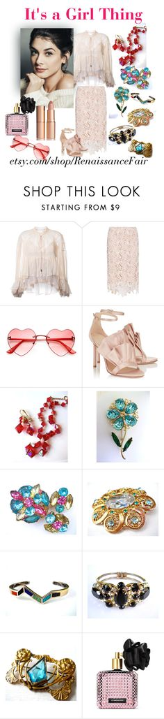 """""""It's a Girl Thing"""" by renaissance-fair ❤ liked on Polyvore featuring Chloé, N°21 and Victoria's Secret"""