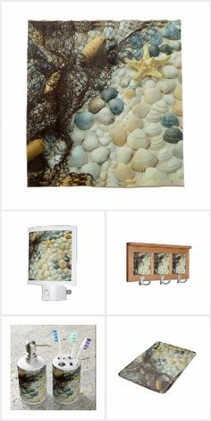 Seashell Bath set