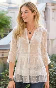 MISTY DREAMS TUNIC | Sundance Catalog