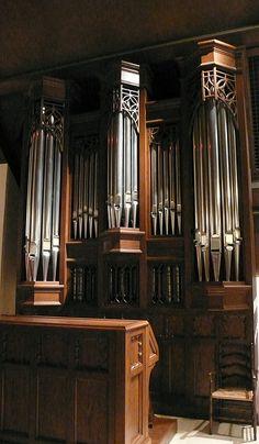 Church Pipe Organ by jwinfred, via Flickr