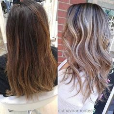 Before and after by @dianaviramontes  a perfect upgrade for the warm-weather months! Hashtag #modernsalon to be featured!