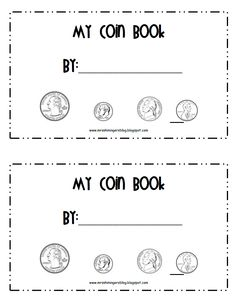 PDF Money Coin Book with poems to help learn what each are