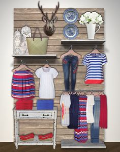 43 new ideas wall display shop visual merchandising