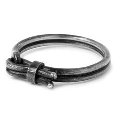 e.m.noir silver oxidized ring 1103-NR112 #emnoir #ring #silver #oxidized #black #blackdiamond #em #metal #normcore #mens #emgrp