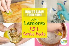 Be it your kitchen, your bathroom, your clothes or many other items in your home, lemon is surely a jack of all trades. Lemon has loads of health benefits, but. Natural Cleaning Solutions, Natural Cleaning Products, Leg Cramps, Dark Lips, Dark Skin Tone, Natural Treatments, Cleaning Hacks, Bright Yellow, Health Benefits