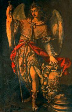 Arcángel San Miguel. Valdés Leal. Escuela española. S. XVI y XVII.
