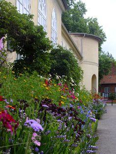 prachtige tuin in park sans souccie