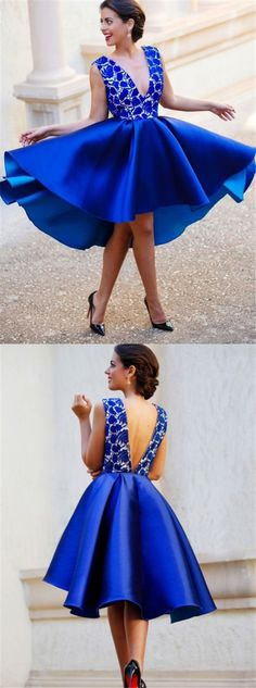 royal blue prom dresses,short prom dresses,lace homecoming dresses,prom dresses for teens @simpledress2480