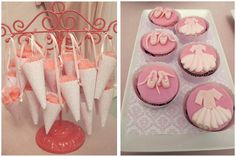 Cotton Candy cones and Cupcakes