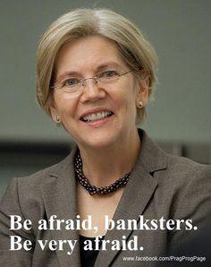 Elizabeth Warren is watching!