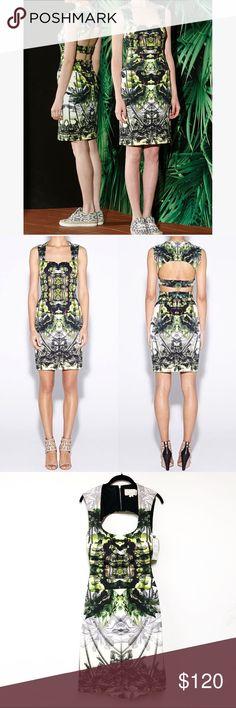 NEW! Nicole Miller 'Coronado' Dress Nicole Miller Artelier 'Coronado' neoprene Dress. Size 6. Open back detail. Abstract print. Brand new with tags! Retail $330. Nicole Miller Dresses