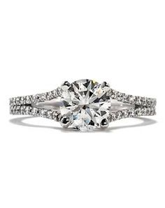 Hearts On Fire Ring #TheKnot #DreamEngagementRing