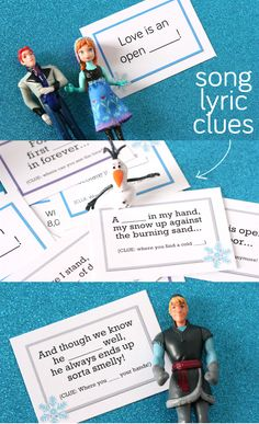 Frozen lyrics Scavenger Hunt The movie is coming TOMORROW! And thanks to Heather P. we can have a fun way of finding it! :)