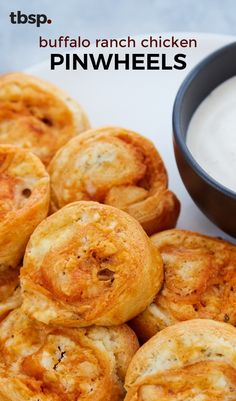 The flavors of Buffalo chicken and ranch dressing are perfectly (some might say addictively) calibrated in one easy appetizer. Yet another genius thing to make with a can of Pillsbury crescents!