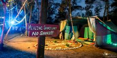 Healing sanctuary, festival, no shoes, sign, Vortex OpenSource 2014 Cape Town South Africa, Healing, Neon Signs, Shoes, Zapatos, Shoes Outlet, Shoe, Footwear, Recovery