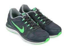 Dual Fusion Run 3 Msl by Nike. Shoes with modern design and multicolored blend. Equipped mesh upper for comfort and dual fusion exercise. Using synthetic as material with gray color. Shoes with details front strap and rubber outsole also swoosh logo. http://www.zocko.com/z/JJSCR