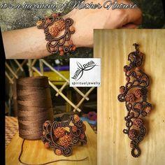 Macrame Rings, Macrame Necklace, Macrame Knots, Macrame Jewelry, Macrame Bracelets, Diy Leather Bracelet, Micro Macramé, Spiritual Jewelry, Macrame Tutorial