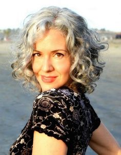 Stylish Short Curls For Women Over 50
