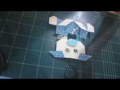 218.돼지접기.종이접기.오월의장미.휴지걸이접기.origami.종이공예 - YouTube