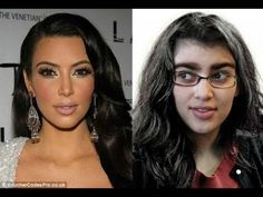 Kim Kardashian Before And After kim kardashian west before plastic surgery and fame youtube
