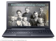 Free Online Genealogy & Family History Courses offered by Brigham Young University ~ Teach Me Genealogy - need to see if these are still available Genealogy Search, Family Genealogy, Genealogy Websites, Genealogy Forms, Free Genealogy, Family Tree Research, My Family History, Personal History, Brigham Young
