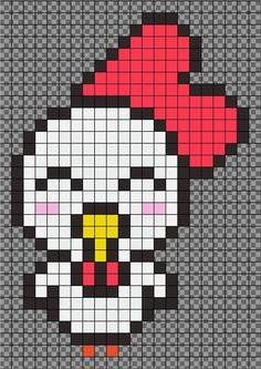 Zebra Perler Bead Pattern By Jeromediy Mon Mod 232 Le De