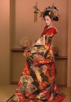 Kimono traditionel