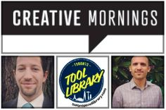 Registration opens today for Toronto Tool Library's collaborative talk with Creative Mornings #Toronto with the theme #minimalism #shareeconomy #collaborativeconsumption #community http://creativemornings.com/talks/the-institute-for-a-resource-based-economy-lawrence-alvarez-ryan-dyment