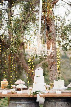 36 ideias para a mesa de doces do seu casamento: deliciosa inspiração! Image: 17