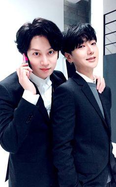 Heechul - Yesung.                                                        Super Junior