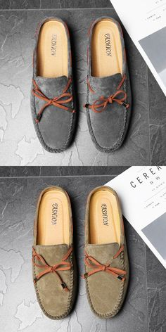 Boat Shoes, Men's Shoes, Backless Loafers, Business Shoes, Awesome Shoes, Martin Boots, Driving Shoes, Dapper, Moccasins