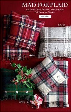 MAD FOR PLAID - Discover Over 200 New Arrivals that Celebrate the Season - SHOP NOW