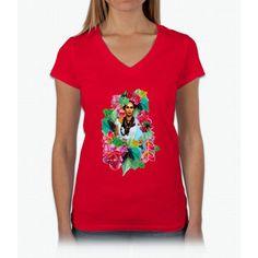 Raja Gemini Womens V-Neck T-Shirt