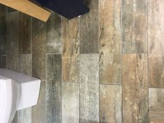 Impex Vintage Wood Effect Floor Tile - 150x600mm at TILEDEALER Wood Effect Floor Tiles, Wood Tile Floors, New Kitchen, Kitchen Ideas, Grey Wood, Shaker Style, Natural Wood, Home Improvement, Porcelain