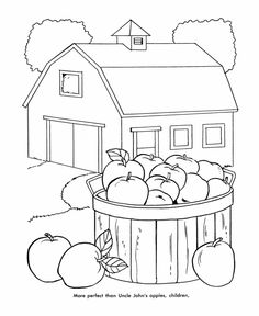 free farm equipment coloring pages - photo#33