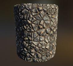 ArtStation - Stone Forest Floor, Ben Keeling