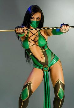 #Jade #MortalKombat #Cosplay