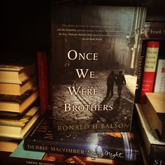 Online Book Club: Once Were Were Brothers by Ronald H. Balson