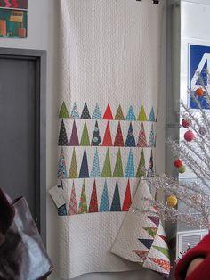 Xmas tree quilt