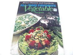 Vintage Cookbook 1970's Better Homes and by ThirstyOwlVintage, $18.50
