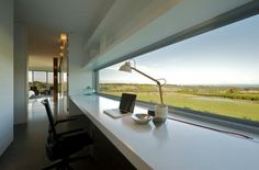 The Shoreham House - SJB Architects - Love the lamp too.