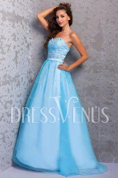 Gorgeous A-Line Sweetheart Floor-Length Miriama's Prom Dress