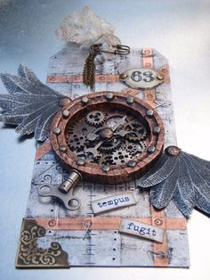 the doghouse: tim holtz - 12 tags of 2012 - september