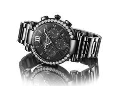 Montre Chopard Impériale Chrono All Black http://www.vogue.fr/joaillerie/news-joaillerie/diaporama/bale-horlogerie-baselworld-2013-montres-hermes-rolex-chopard-dior-harry-winston-omega-zenith-graff-ck/12954/image/748587#!bale-horlogerie-baselworld-2013-montre-chopard-imperiale-chrono-all-black